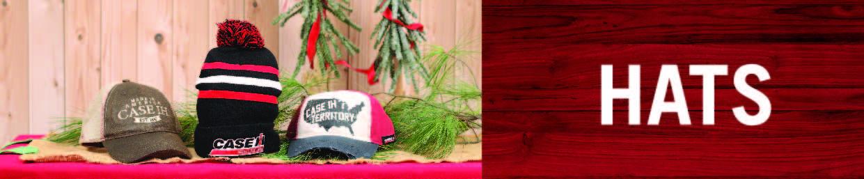 Shop Case IH Hats!